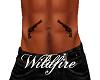 *W* Guns Belly Tattoo