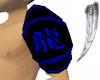 Blue Dragon Arm Plate L