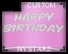 ✮ Happy birthdya sign