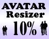 Avatar Scaler 10% / M