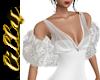 Wedding shrug silver