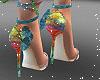 Sparkle Boho Heels