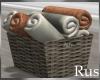 Rus Burke Towel Basket