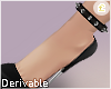 £. Spiked Anklet R DRV