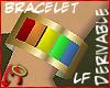 [m] Baguette Bracelet LF