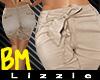 *L* BM Bow Belt Bermuda