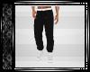 Black & White Sweat Pant