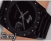 E! Black Hand Watch.