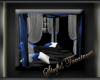 :ST: White N Blue Tent