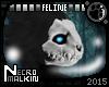 Feline Skull Mask