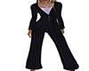 ~N~ Black Pinstripe Suit