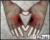 |Z| Gloves blood D-Hans