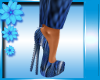 PVC Python Heels