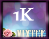 VIX'S 1K SUPPORT STICKER