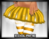 E~ X-mas Skirt Yellow