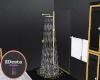Suave modern shower