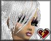 S white tiana hair