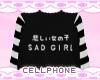 sad girl ❤
