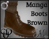 MM~ Manga Boots Brown