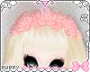 [Pup]Pink Rose Headdress