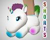 Male Unicorn Slippers