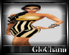 Glo* Kati Dress~Gold