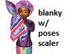 Kid Dream Blanket Poses