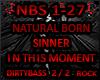 NBS Natural Sinner ITM 2