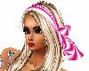 blonde w ribbon