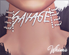 Savage Diamond Choker