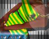 bm polo green/yellow