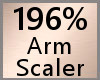 196% Arm Scaler F A