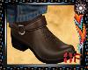 Sharp Cowboy Boots Brown