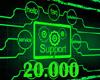 Support Service 20K
