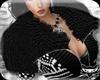 ! Black Fur collar