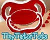 Animated Red Pacifier