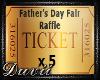Raffle Ticket x5