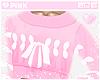 ♔ Sweater e Pink