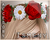 [Is] Red Rose Headband