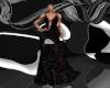 Vintage Black Gown