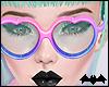 KIKI|ColorGlitrHeartGlas