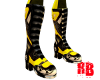 Yellow Racing Boots