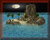 Island Moon Night
