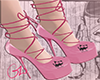 pink cat shoe