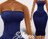 ṩLia Bodycon rll Blue