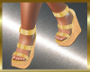 GG WEDGES GOLD