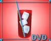 Glass RED kool aid