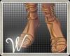 *W* Goddess Sandals