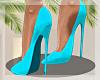 -Mm- Slay Blue Heels
