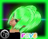 -7p- Rave Hair Toxic Oz